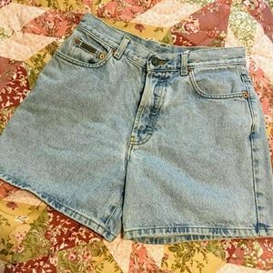 Vintage Calvin Klein Button Fly Mom Jean Shorts